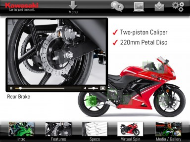 Kawasaki: Mobile App / M-Learning