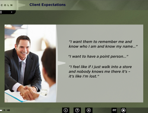 Lincoln Motor Company: Sales Experience eLearning